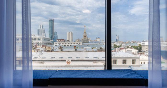 Видовые апартаменты в центре посуточно в Екатеринбурге