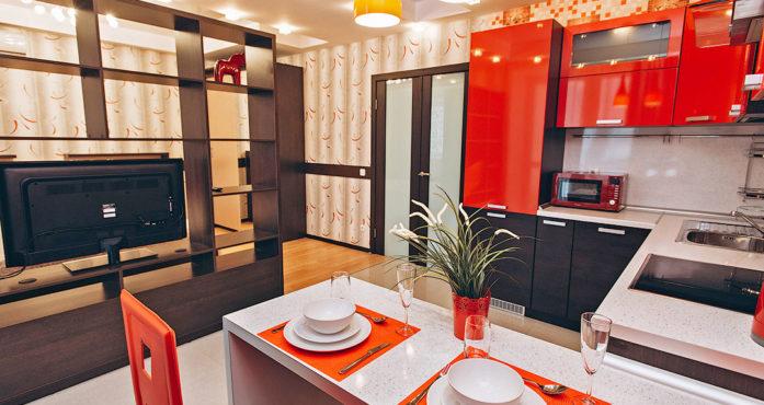 Студия VIP класса с кондиционером посуточно в Екатеринбурге