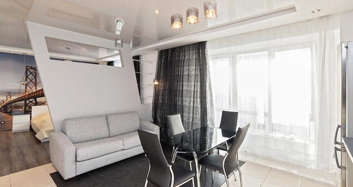 Квартира студия VIP класса посуточно в Екатеринбурге